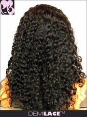 LACE FRONT WIG: Maella Somalian Curl Indian Remy