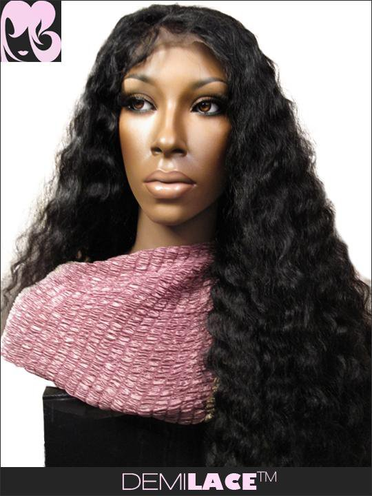 LACE FRONT WIG: Stephanie By The Beach Indian Remy