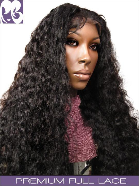 FULL LACE WIG: Stephanie By the Beach- Wavy Indian Remy
