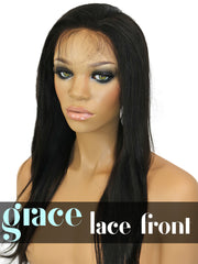 LACE FRONT WIG: Virgin Straight