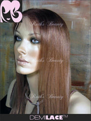 LACE FRONT WIG: Susan Silky Straight Indian Remy