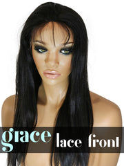 LACE FRONT WIG: Yaki Straight