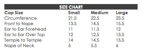 wig size chart