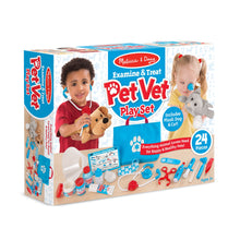 Ensemble de vétérinaire - Examine & Treat Pet Vet Play Set