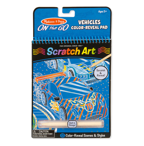 On the Go - Scratch Art - Véhicules