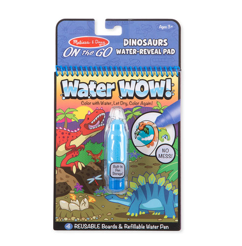 On the Go - Water Wow - Dinosaures