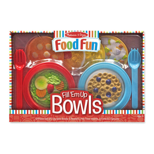 Bols de nourriture - Food Fun Fill 'Em Up Bowls