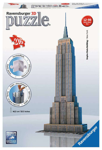 Casse-tête 3D - Empire State Building (216 pcs)