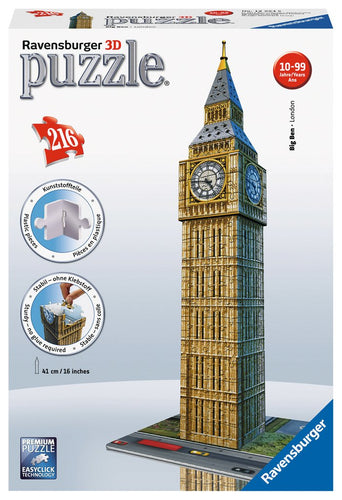 Casse-tête 3D - Big Ben (216 pcs)