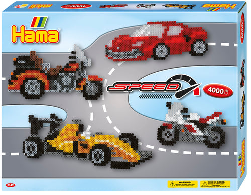 Perles HAMA - Speed (4000pcs)