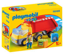 Playmobil 1 2 3 - Camion benne