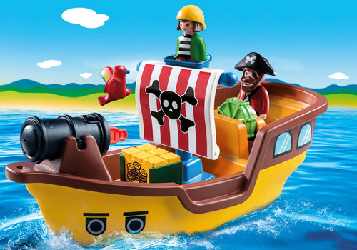 Playmobil 1 2 3 - Bateau de pirates