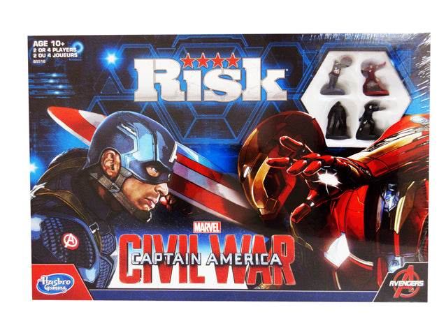 Jeu Risk - Capitaine America (bilingue)