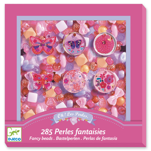 Ensemble de perles fantaisies - Papillons (285 pcs)