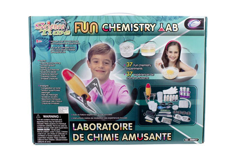 Science - Laboratoire de chimie amusante