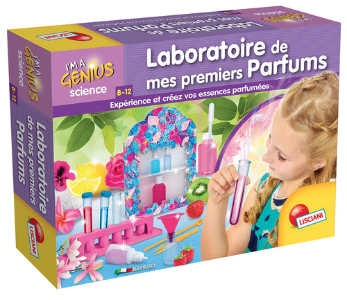 Science - Laboratoire de mes premiers parfums