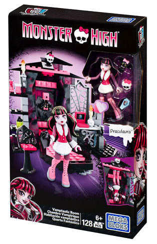 Ensemble de blocs (Monster High) - Chambre vampirique de Draculaura