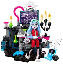 Ensemble de blocs (Monster High) - Laboratoire de Ghoulia