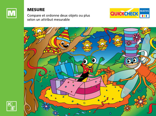QuickCheck Maths - Mesure (maternelle)