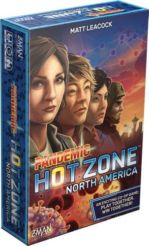 Pandémie Zone rouge: Amérique du Nord - Pandemic Hot Zone : North America (version française)