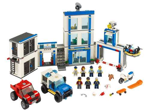 LEGO - City - Le commissariat de police