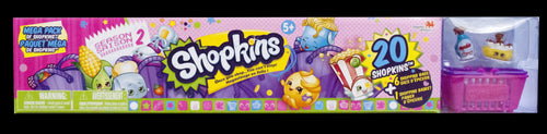 Shopkins - MEGA PACK 20 figurines - Saison 2
