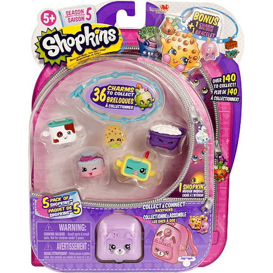 Shopkins - 5 figurines - Saison 5