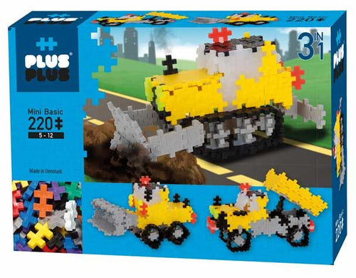 Plus Plus - 3 en 1 construction (220pcs)