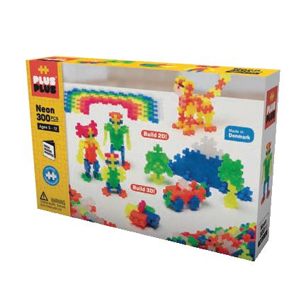 Plus Plus - Ensemble de base - Néon (300pcs)