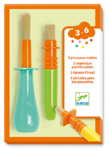 DJECO - 3 pinceaux malins