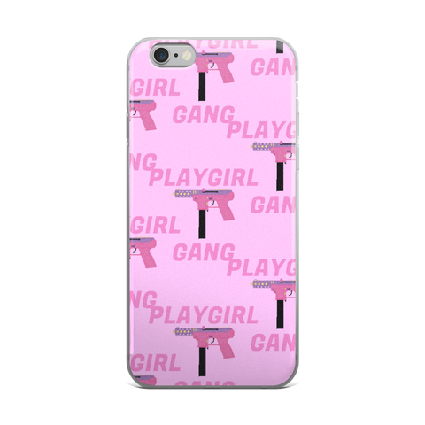 PLAYGIRL GANG iPhone 5/5s/Se, 6/6s, 6/6s Plus Case