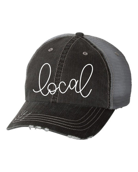Local Hat in Charcoal