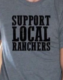 Support Local Ranchers - Charcoal