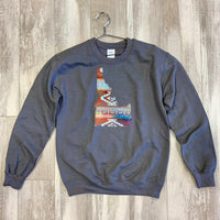 Idaho Aztec Pattern Sweatshirt