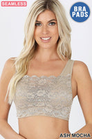Tank Lace Bralette * 10 COLORS *