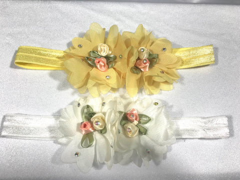 Flower Filled Headband