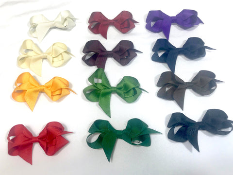 Grosgrain Ribbon Clip