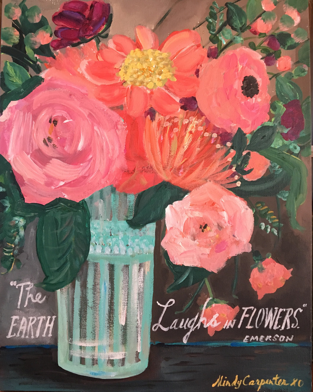 Earth Laughs in Flowers | Greeting Card