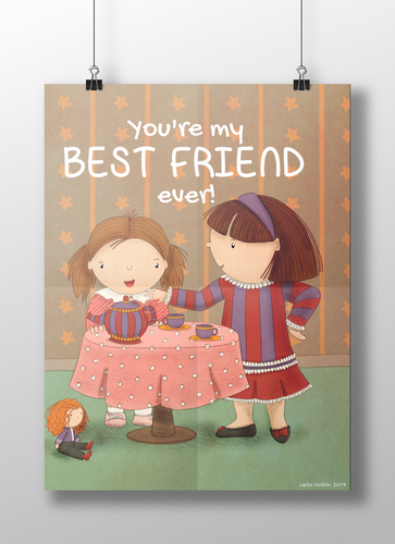 Best Friend Ever | Art Print