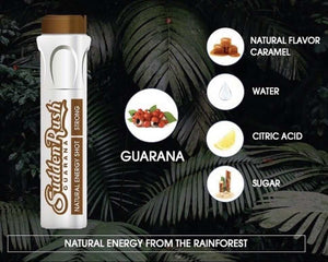SuddenRush Strong Guarana Energy Shot - Guarana Natural Energy Shot Drink | Effective Energy Booster online | SuddenRush Guarana USA