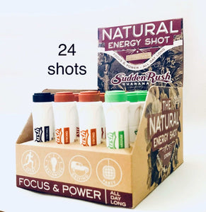 SuddenRush Guarana Energy Shot Variety Pack - Guarana Natural Energy Shot Drink | Effective Energy Booster online | SuddenRush Guarana USA