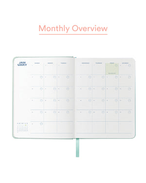 2021 Personal Planner in Mint