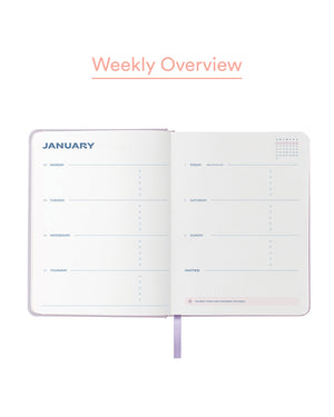 Load image into Gallery viewer, 2021 Personal Planner in Lilac