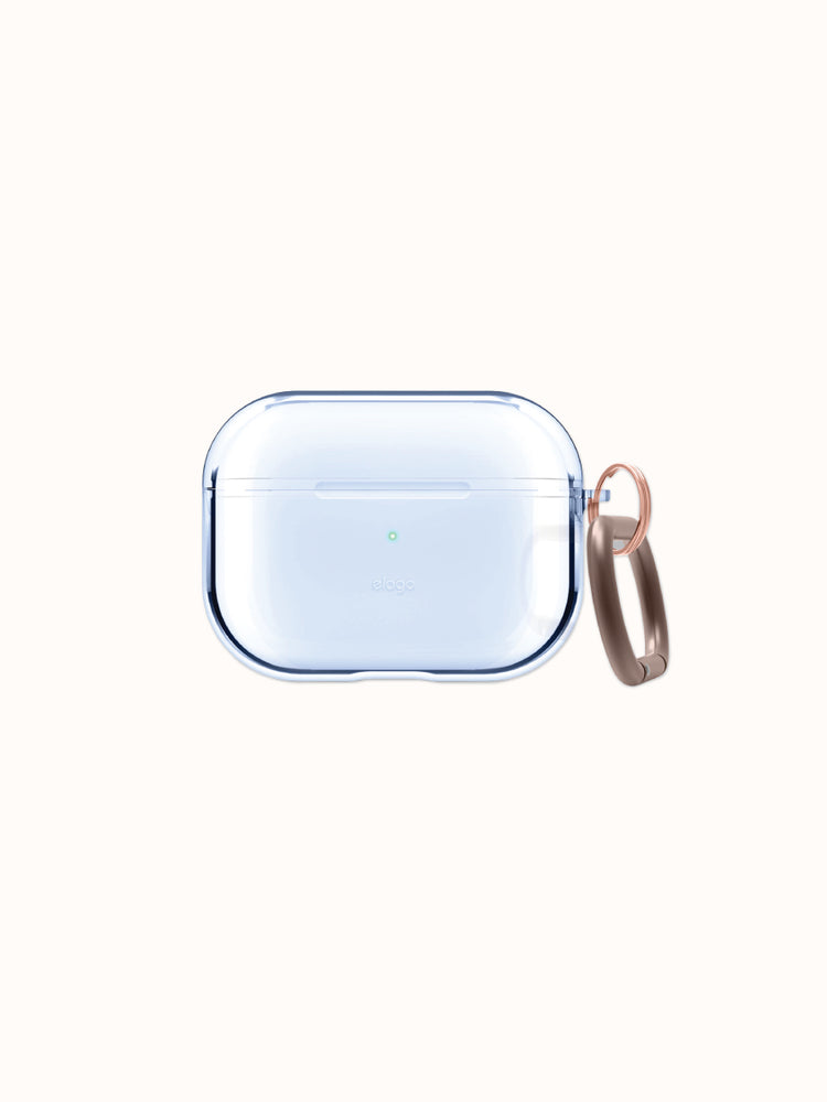 elago AirPods Pro Clear Case: Aqua Blue