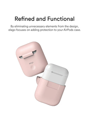 elago Airpods Silicone Case: Pink