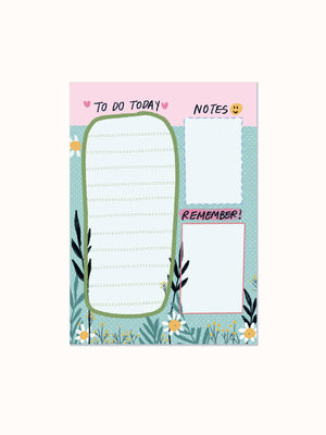 Daily To-do List Desk Pad