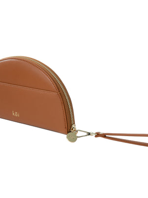 Dayly Clutch in Caramel Brown