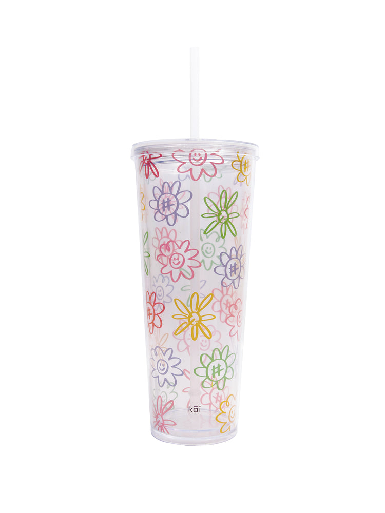 Load image into Gallery viewer, Flower Power Tumbler