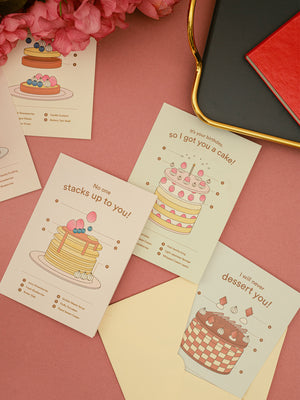 Greeting Card: Fluffy Pancakes