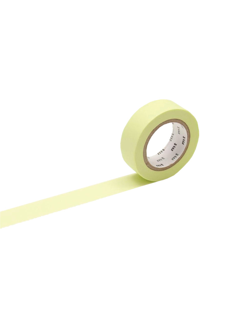 Load image into Gallery viewer, MT Basic Washi Tape: Pastel Lime